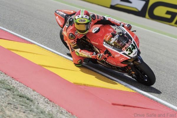 Ducati WSBK, Aragon 5