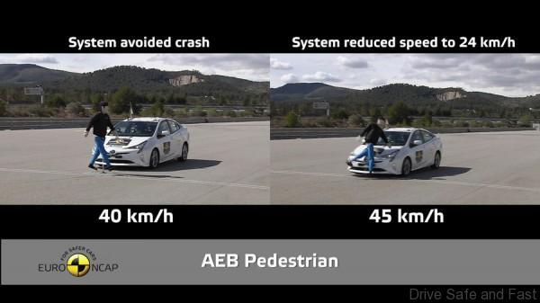 Euro NCAP pedestrian detect 2