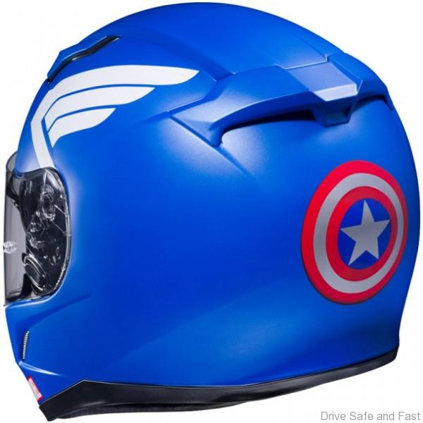 HJC-CL17-Captain-America-MC-2-Rear
