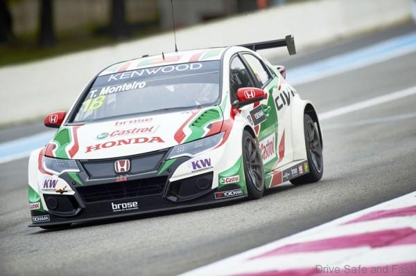 2016 EVENT: Race of France TRACK: Circuit Paul Ricard TEAM: Castrol Honda World Touring Car Team CAR: Honda Civic wtcc DRIVER: Tiago Monteiro