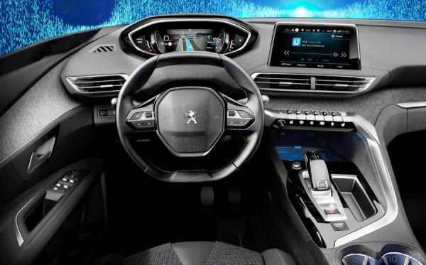 peugeot previews more streamlined informative next generation i cockpit drive safe and fast. Black Bedroom Furniture Sets. Home Design Ideas
