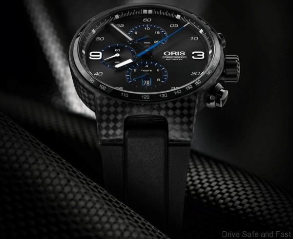 01 674 7725 8764-07 4 24 50BT - Oris Williams Chronograph Carbon Fibre Extreme