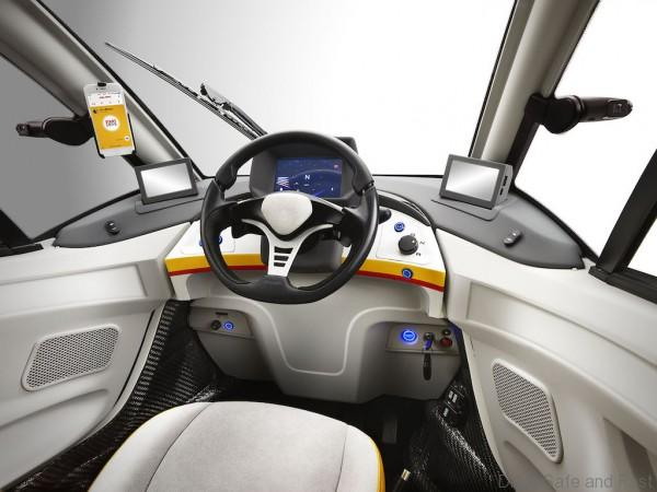 Shell Concept Car_Dashboard *Do use for Advertising purposes, STRICTLY BTL useage ONLY, unless agreed with client & photographer.