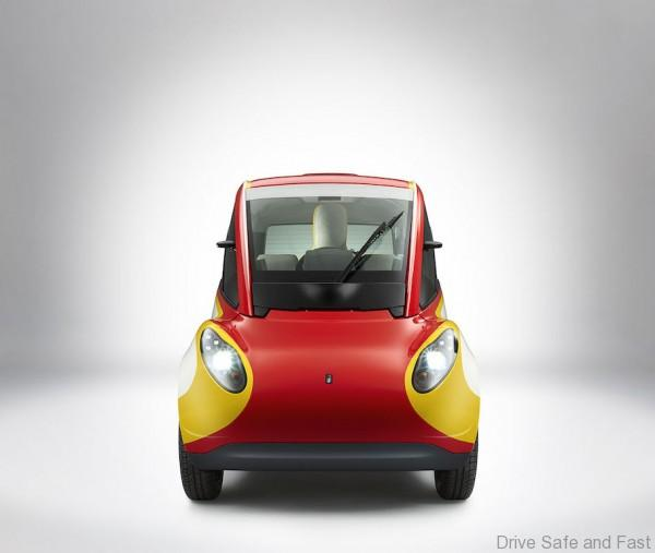 Shell Concept Car_Front *Do use for Advertising purposes, STRICTLY BTL useage ONLY, unless agreed with client & photographer. Please credit Shell/Justin Leighton