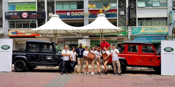 The Land Rover Defender Rover Team