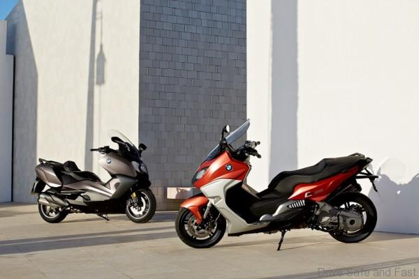 The new BMW C 650 GT and the new BMW C 650 Sport (1)