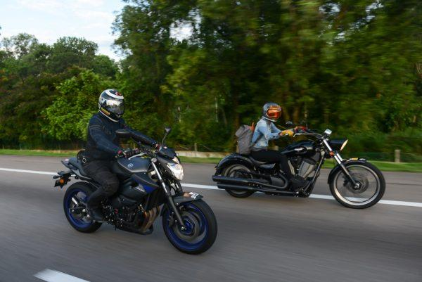 #Advance2Langkawi winners Koong Wai Hoong (left) and Miazil Jores on the road to Langkawi
