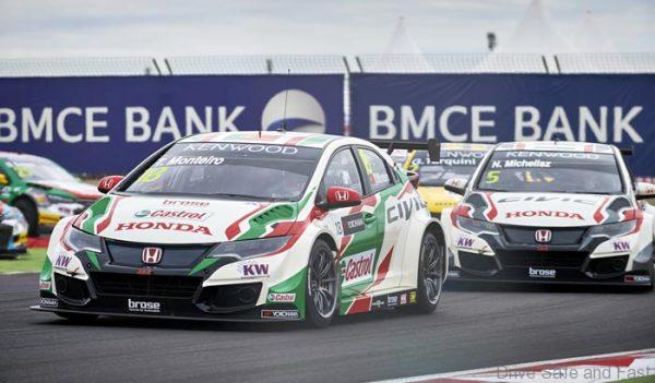 2016 EVENT: Race of Morocco TRACK: Circuit Automobile International Moulay El Hassan TEAM: Castrol Honda World Touring Car Team CAR: Honda Civic wtcc DRIVER: Tiago Monteiro