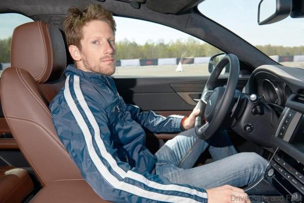 Jag XF Grosjean 2