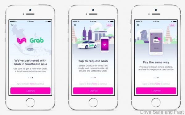 3 - Grab Integration in Lyft App 1