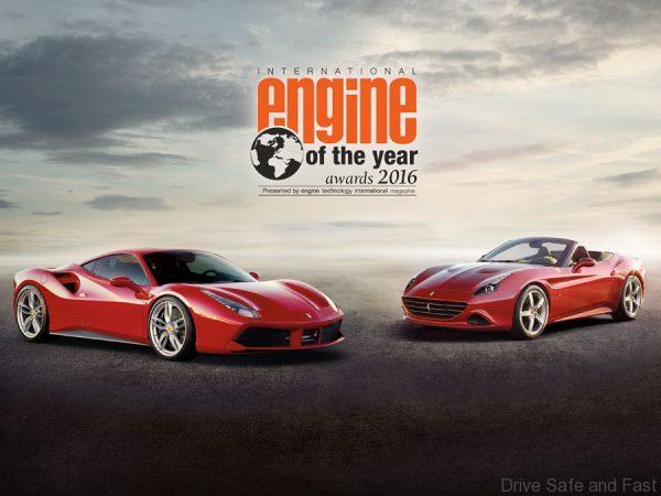 Ferrari engine of the year 2