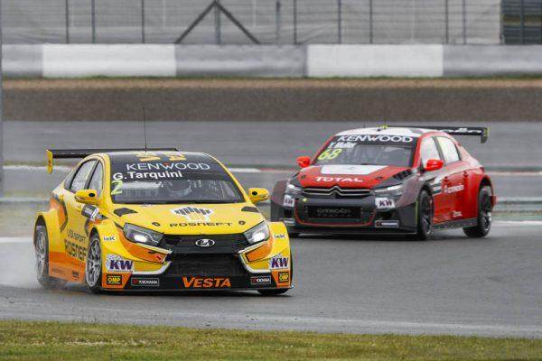 02 TARQUINI Gabriele (ita) Lada Vesta team Lada Sport Rosneft action during the 2016 FIA WTCC World Touring Car Race of Moscow at Moscow Raceway, Russia from June 10 to 12 2016 - Photo Florent Gooden / DPPI