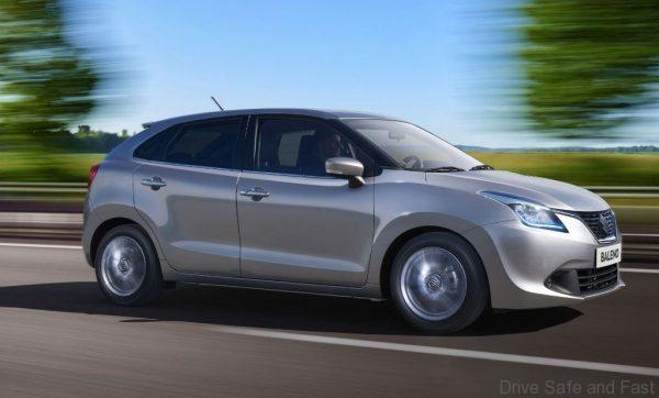 suzuki baleno hybrid shows up drive safe and fast. Black Bedroom Furniture Sets. Home Design Ideas