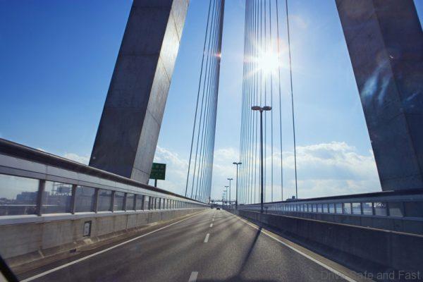 Expressway in Osaka, Japan