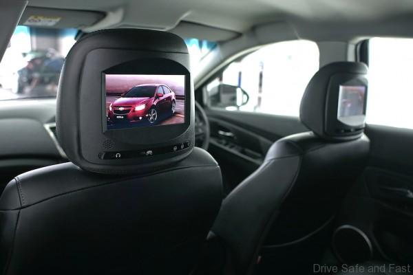 7 inch Double Headrest Monitor (Cruze)