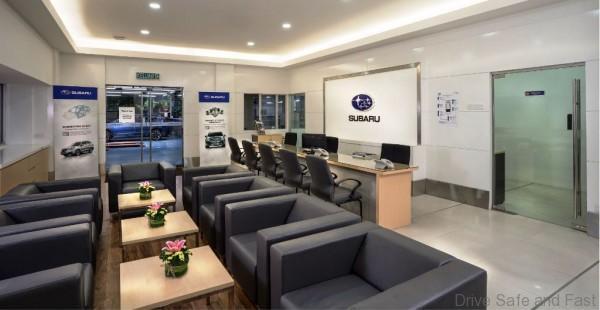 Cheras 4S Showroom_Interior - Service Reception & Customer Lounge