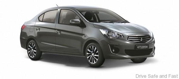 Mitsubishi Attrage eco sedan with cash rebates up to RM12, 000