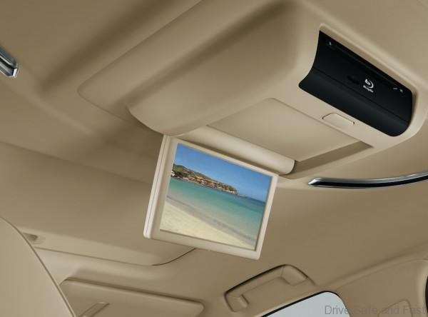 Rear Seat Entertainment with Blu-ray Disc™ player