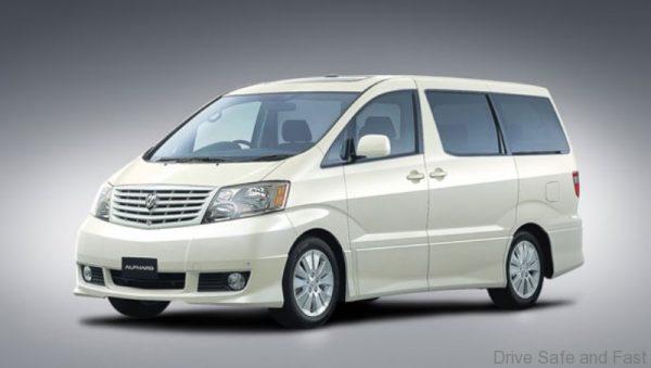 Toyota-Alphard 1st generation