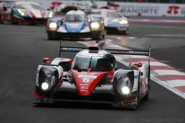 Toyota Racing TS050 World Endurance Championship. 6 Hours of Mexico Autodromo Hermanos Rodriguez 1st-3rd September 2016