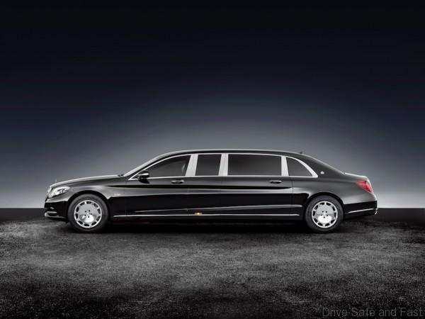 Mercedes-Maybach S 600 Pullman Guard. ; Mercedes-Maybach S 600 Pullman Guard.;