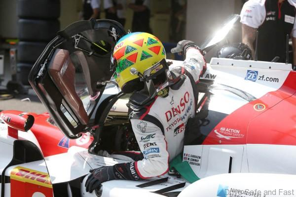 Mike Conway (GBR) Toyota Racing TS050 World Endurance Championship. 6 Hours of Mexico Autodromo Hermanos Rodriguez 1st-3rd September 2016
