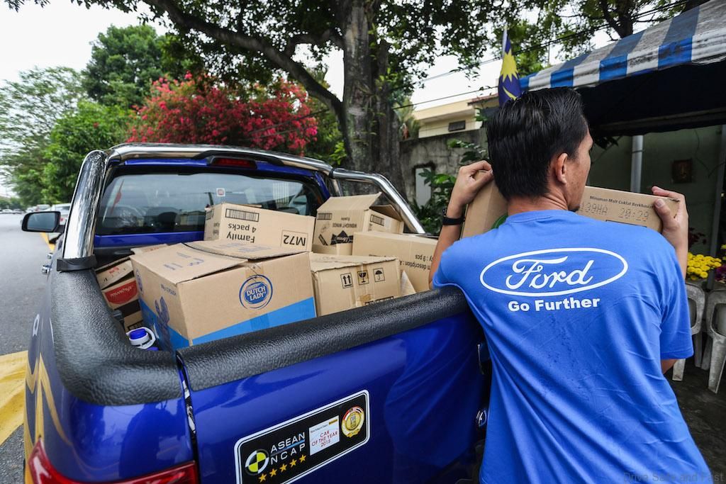 Ford volunteer projects expand in malaysia as part of ford for Ford motor company charitable giving