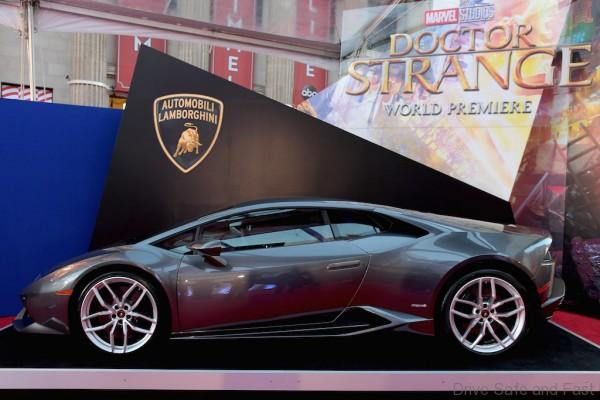 HOLLYWOOD, CA - OCTOBER 20: Lamborghini Stars at Marvel Studios' Doctor Strange, in US theaters Nov. 4, at El Capitan Theatre on October 20, 2016. (Photo by Charley Gallay/Getty Images for Automobili Lamborghini S.p.A.)