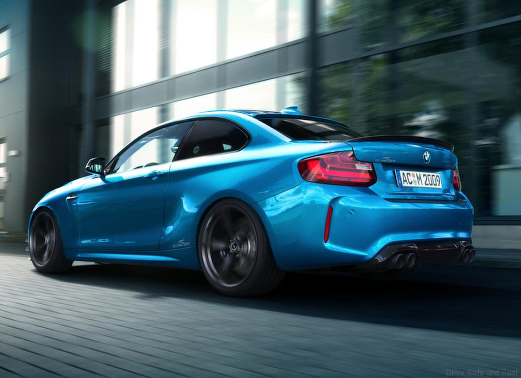 ac schnitzer bmw m2 lighter faster more sporting drive safe and fast. Black Bedroom Furniture Sets. Home Design Ideas