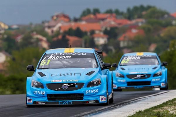 Björk and Ekblom fight difficult conditions to double top five finish in Hungary