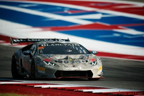 September 14, 2016: Lamborghini Super Trofeo at Circuit of the Americas. #1 Shinya Michimi, Prestige Performance, Lamborghini Paramus (Pro)