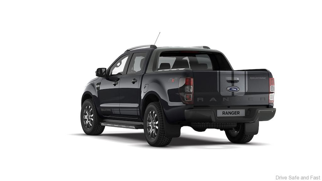Ford Ranger Wildtrak In Limited Edition New Jet Black