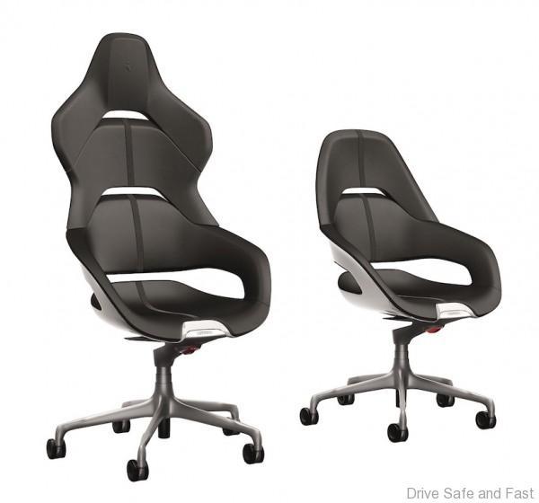 Ferrari And Poltrona Frau Present Cockpit A New Office Chair