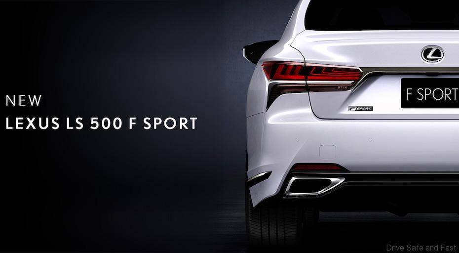 New Lexus LS500 F Sport to Make New York Debut
