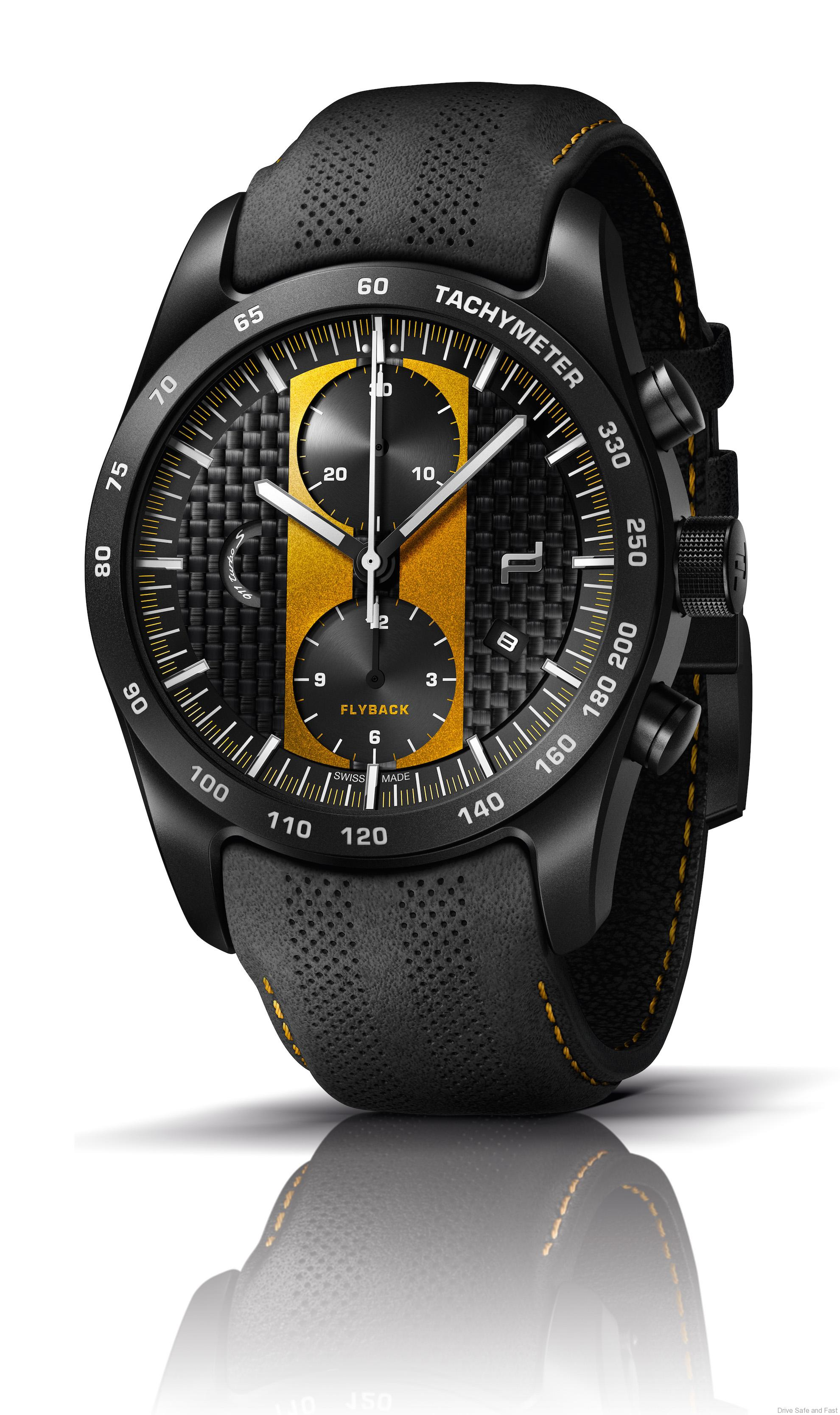 8612cd1ec01 For this new Porsche Design Chronograph 911 Turbo S Exclusive Series