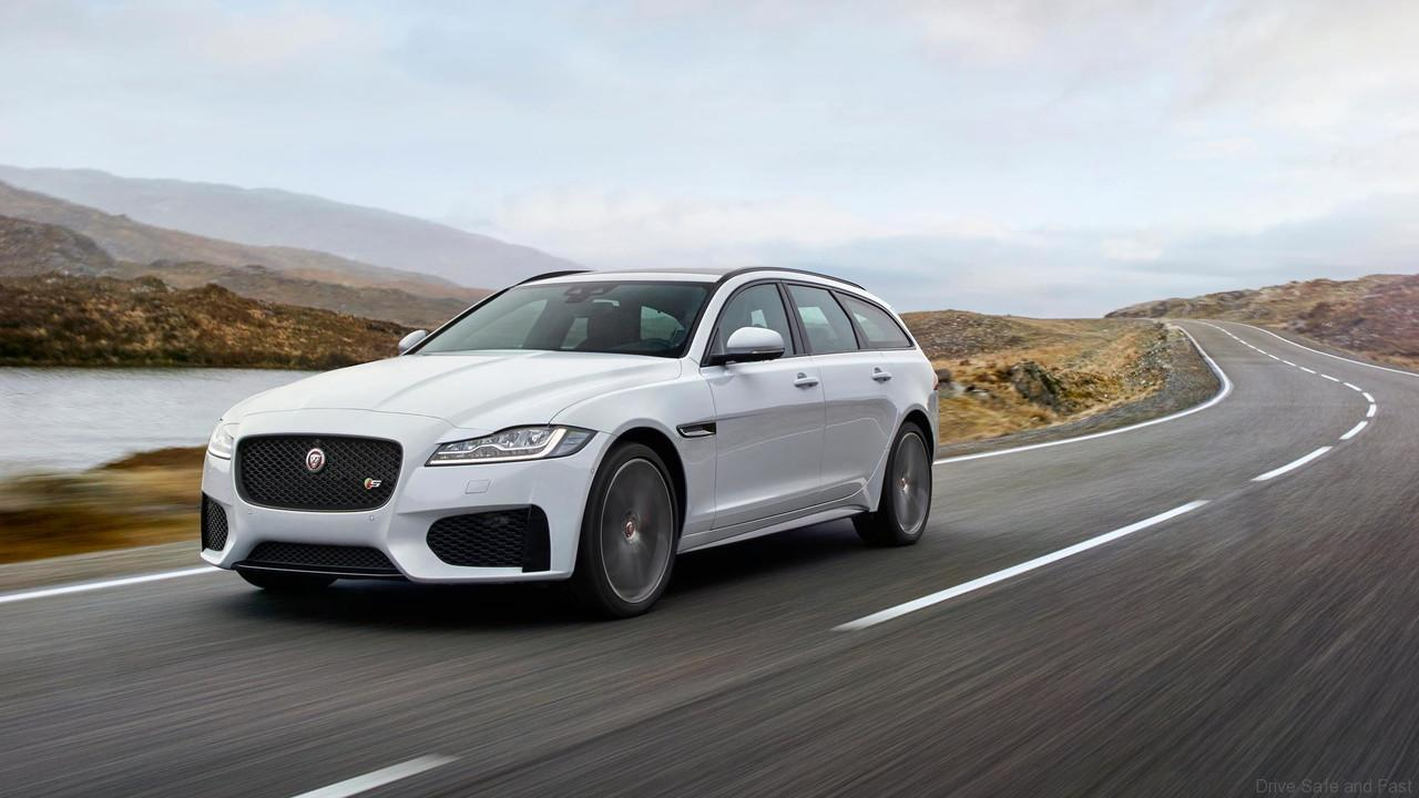 Jaguar XF Sportbrake: grace, space and pace for the 21st century