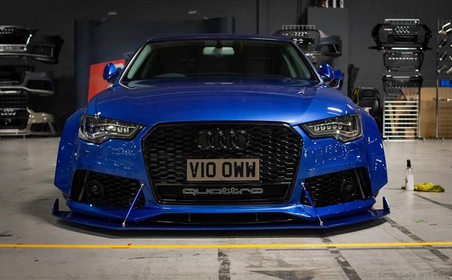 Meet The Widebody Audi A6 C7