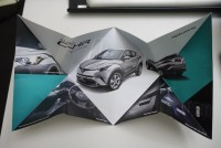 A Look at the Toyota CH-R's Funky Brochure