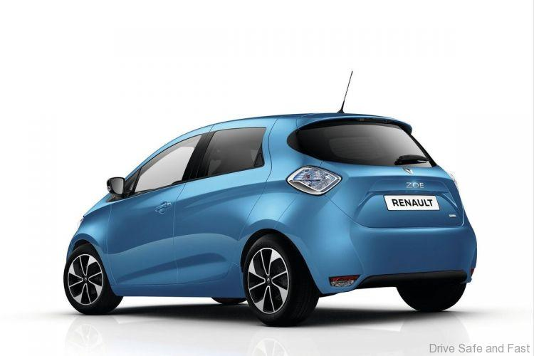renault zoe r110 with 107bhp coming drive safe and fast. Black Bedroom Furniture Sets. Home Design Ideas