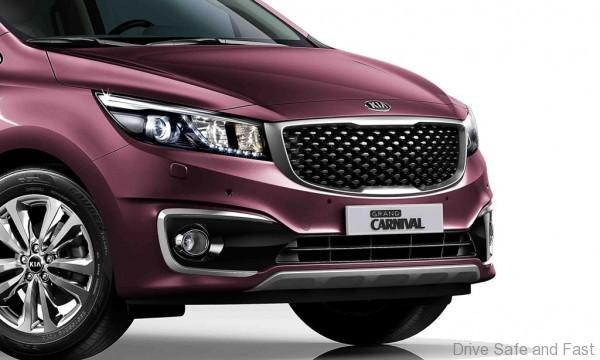 Naza Kia Introduces High Spec Grand Carnival 2 2d Sx Drive Safe