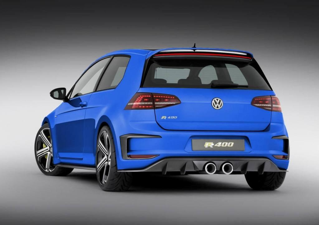 vw golf r400 concept has been confirmed for production drive safe and fast. Black Bedroom Furniture Sets. Home Design Ideas
