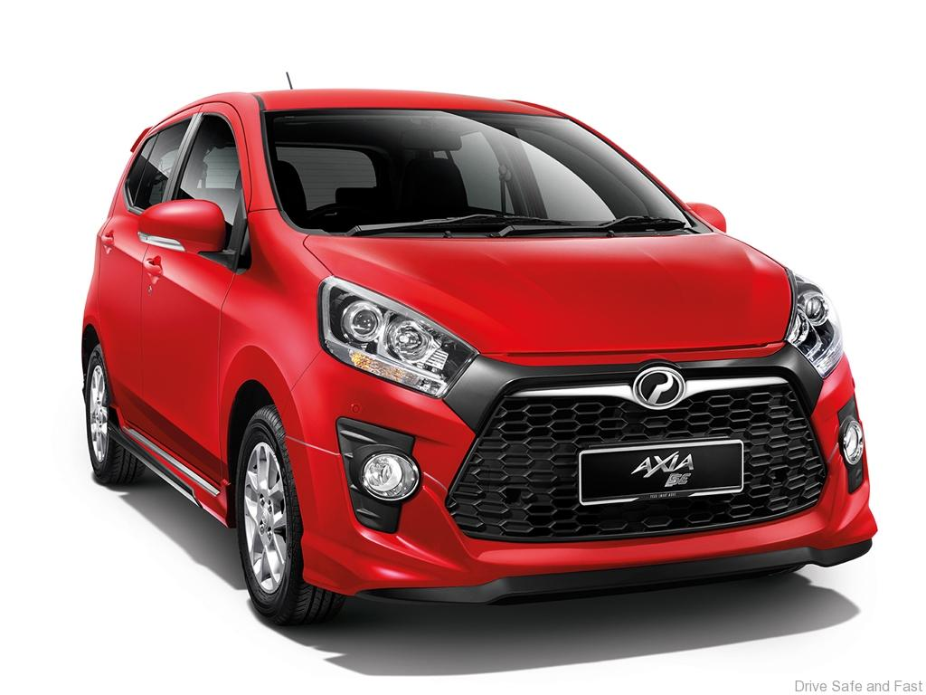 Perodua Launches 'GearUp' Accessories For Axia Models  DSF.my