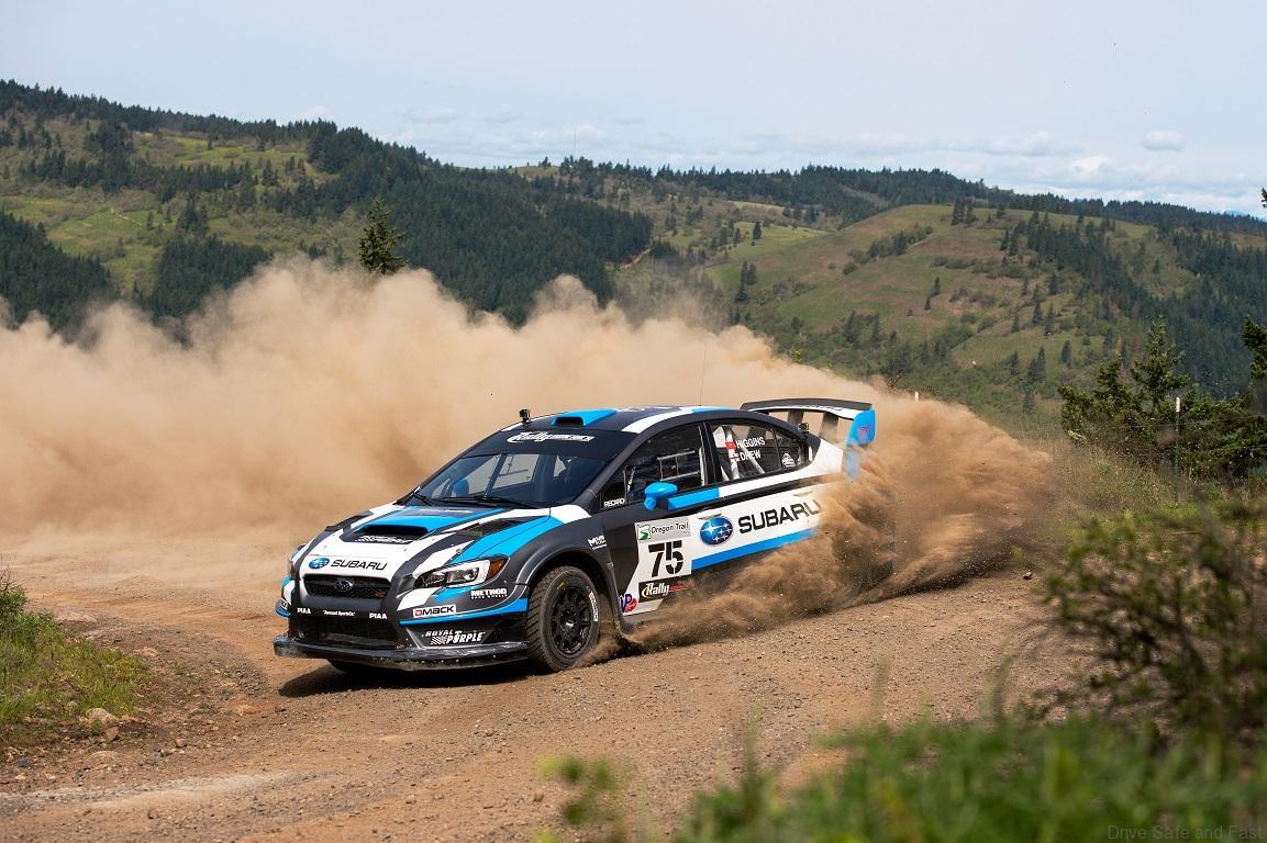 Subaru Driver David Higgins takes Oregon Trail Rally ...