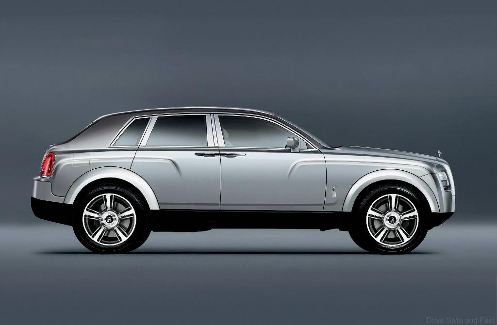 Rolls Royce Testing Suv Platform Drive Safe And Fast