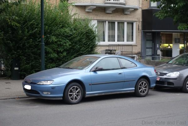 Car Spotting Europe Pt.1: Peugeot 406 Coupe