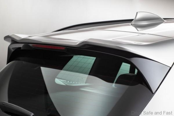 BMW G01 X3 M Competition Spoiler