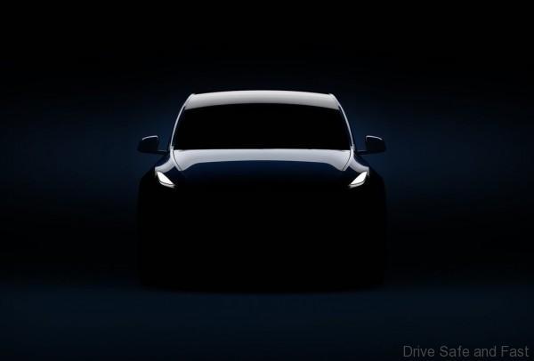 Tesla Model Y Silhoutte front