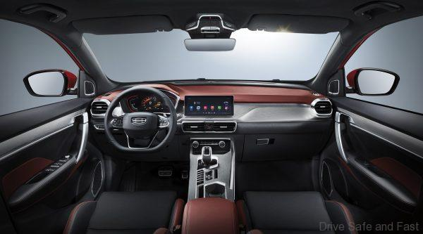Geely Coolray_dashboard