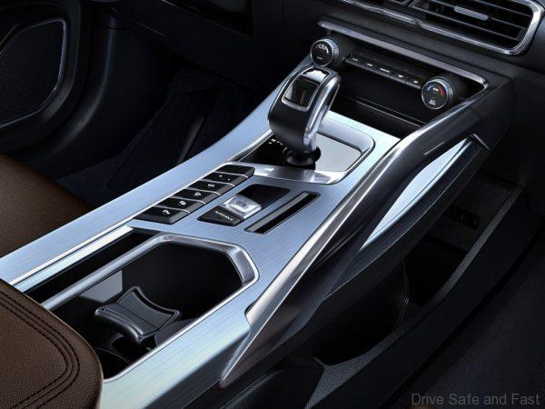 Geely Coolray_center console