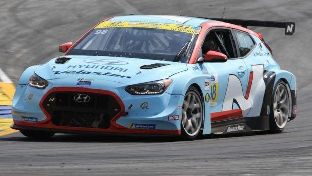 Hyundai victory at the Fox Factory 120 at Michelin Raceway Road Atlanta